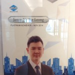 James Ng: Propnex Platinum Achiever Award
